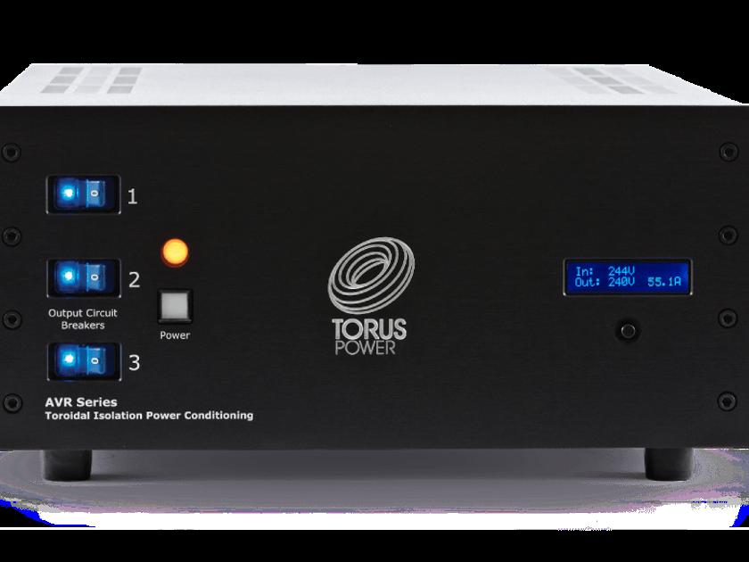 TORUS POWER AVR 60 BAL CB (Black) AC Conditioner: Mint Condition; Original Packaging; Demo Unit;  Full Warranty; 50% Off Retail