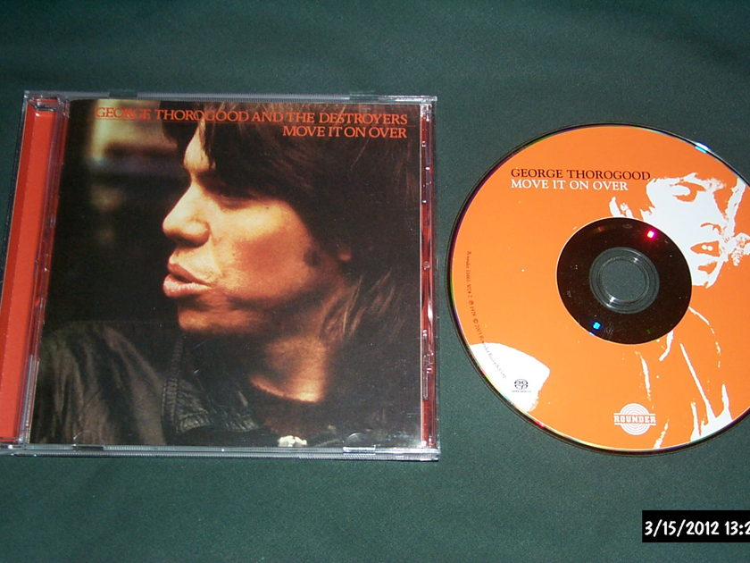 George Thorogood & The Destroyers - Move It On Over SACD Hybrid NM
