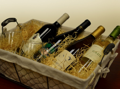 Wine Basket - Two Whites and Two Reds
