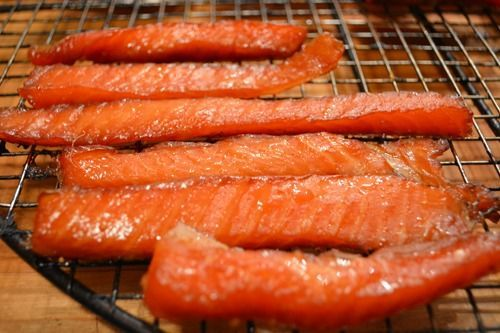 Pet Chef Salmon Jerky recipe