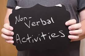 non verbal lego building