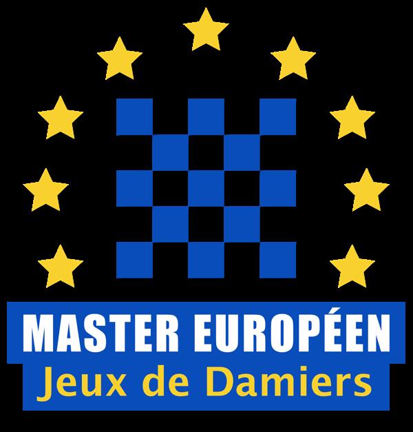 logo master européen des damiers