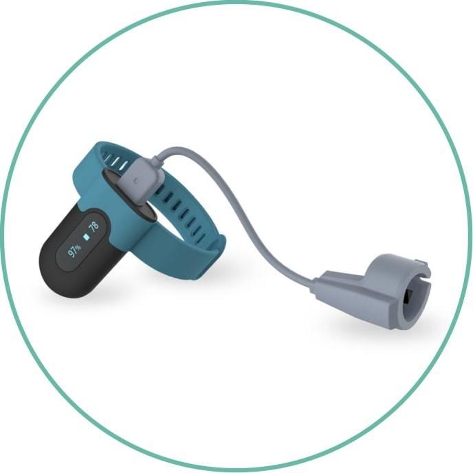 wellue sleepu wrist oxygen monitor