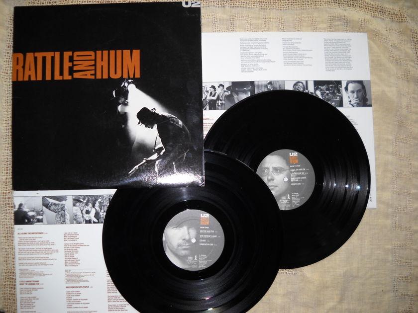 U2 - Rattle and Hum NM
