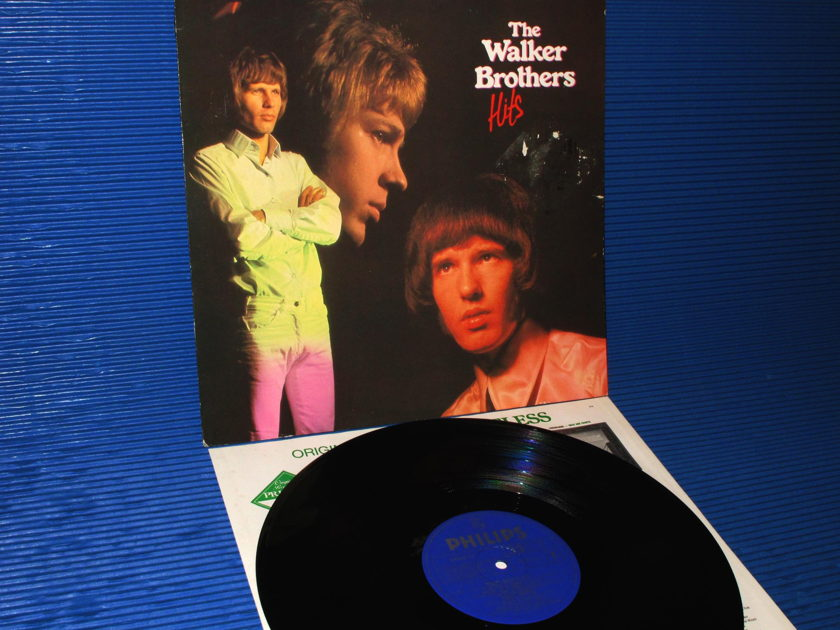 """THE WALKER BROTHERS  - """"The Walker Brothers' Hits"""" -  Philips Import 1982"""