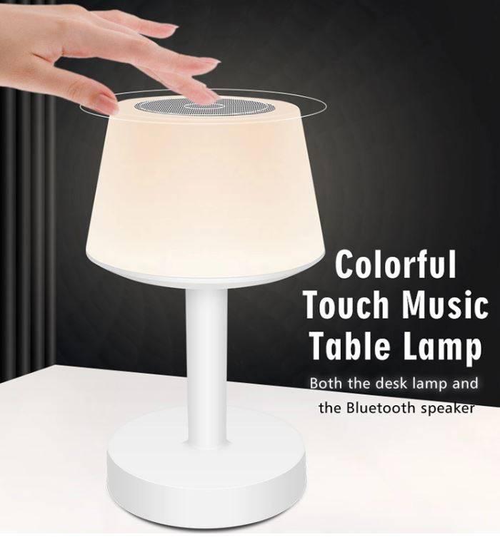 best wireless music table lamp, best wireless music table lamp 2020, best USB night lamp, best baby calming night lamp