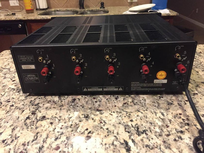 Carver AV-505 5-Channel Amplifier