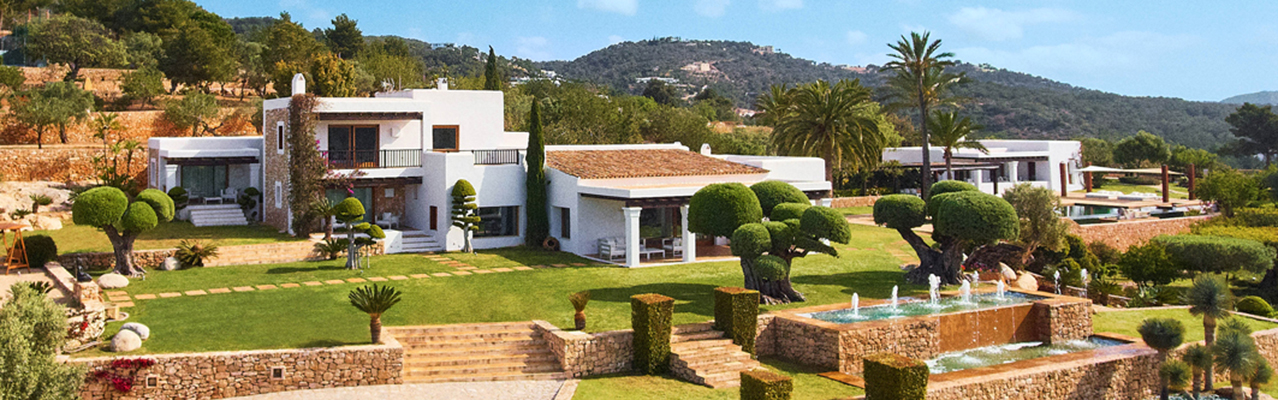 Ibiza - Luxury mansion with impressive view