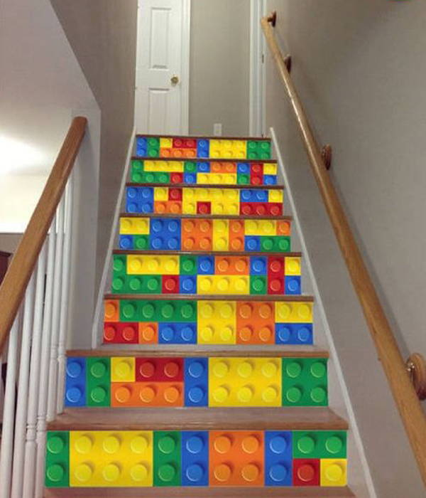 LEGO staircases
