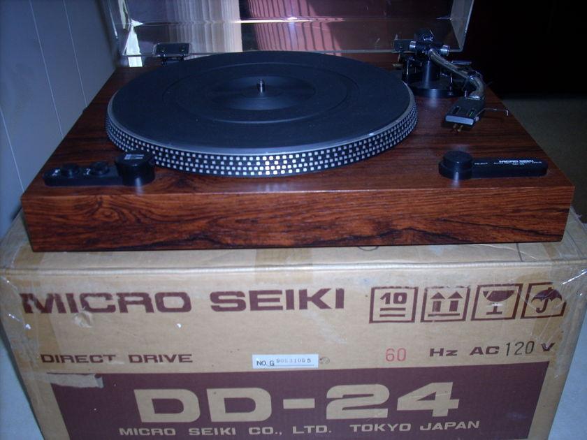 MICRO SEIKI DD-24 For parts or repair.Please read!