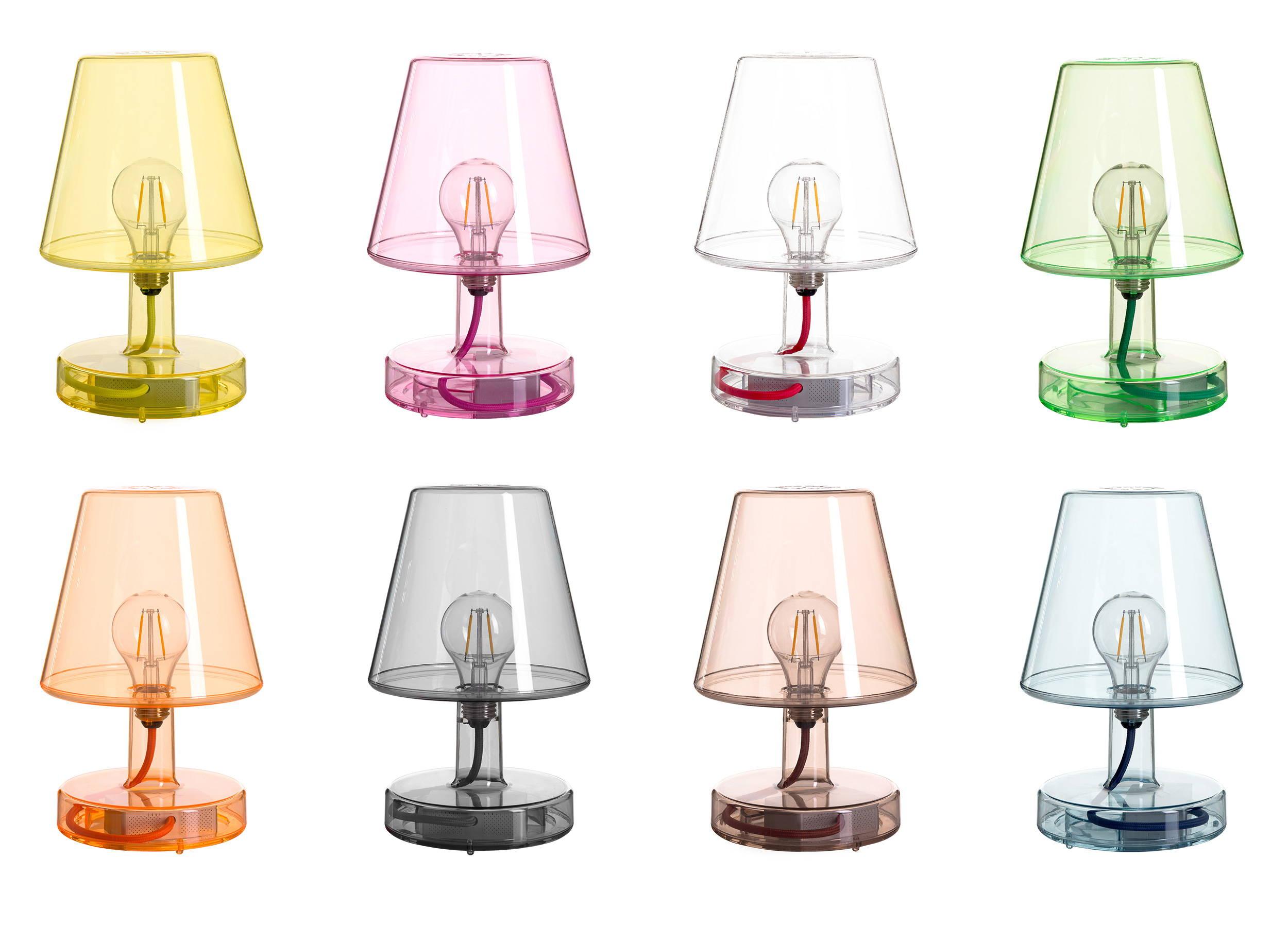 Colourful LED table lamp