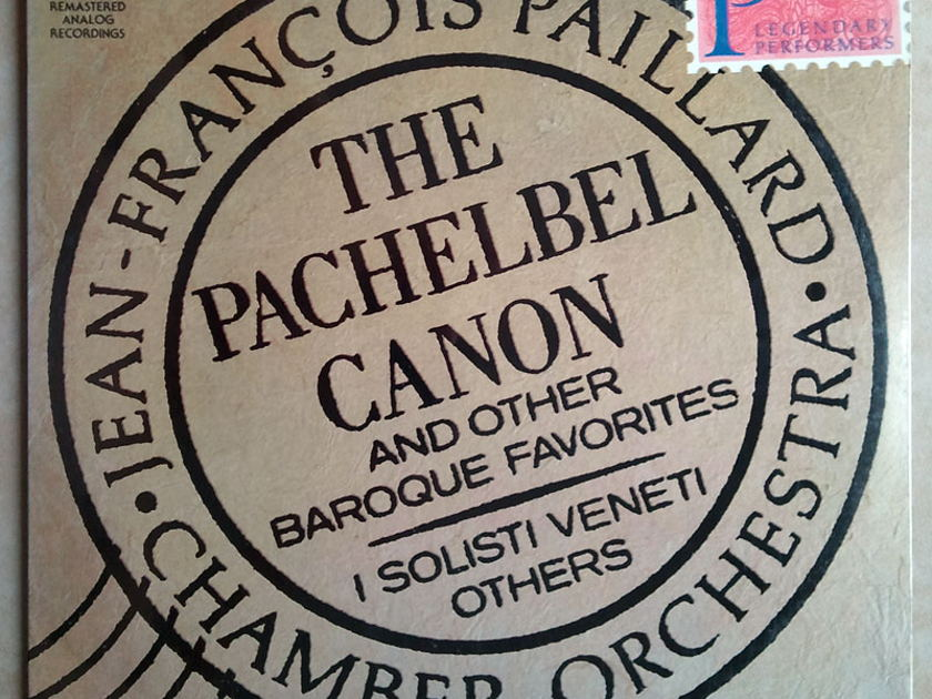 RCA/Jean-Francois Paillard/Pachelbel - Canon & other Baroque Favorite / NM