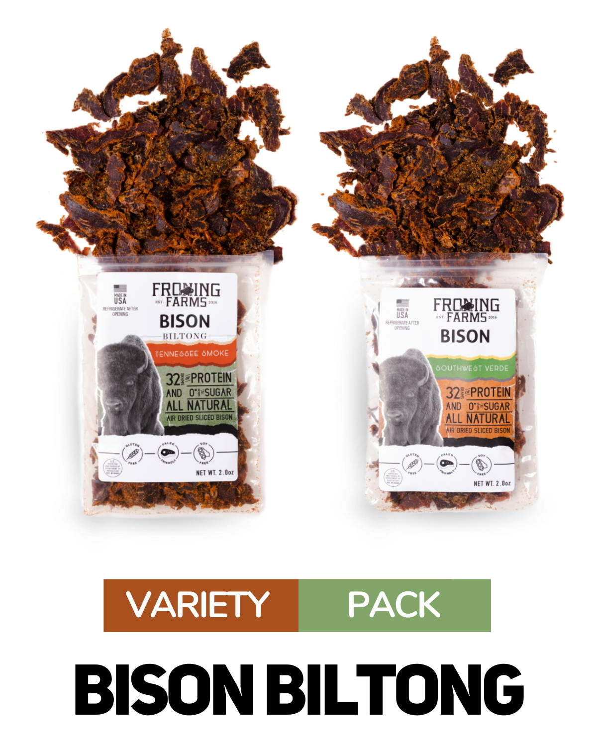 cranberry bison sticks froning farms