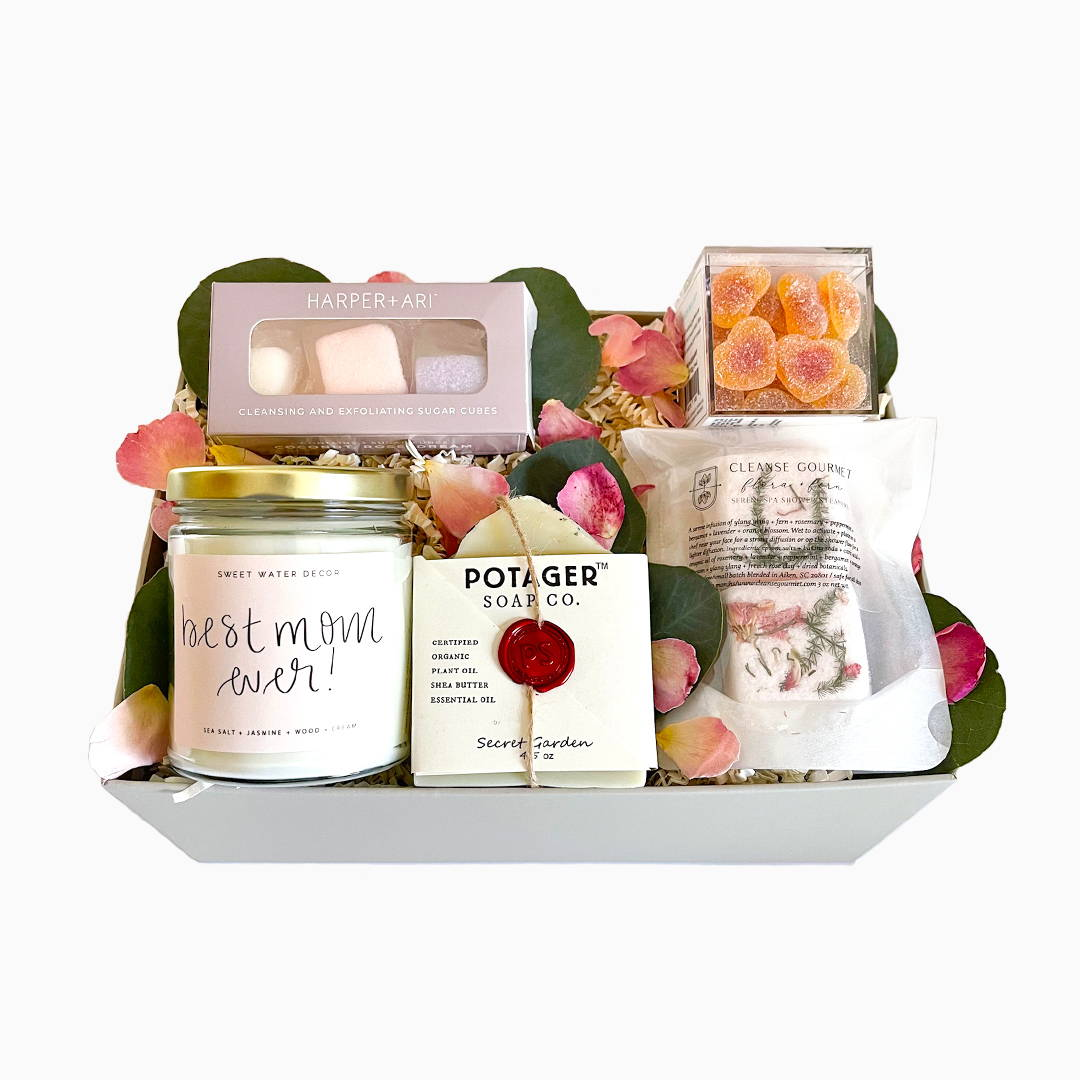 best mom ever spa gift box, Mother's Day Gift Boxes, Send mom a mothers day gift box