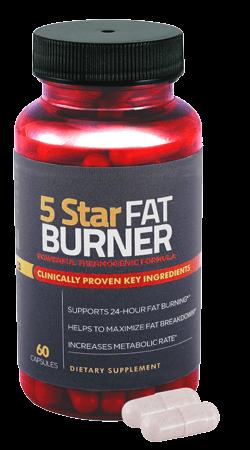 fat burner bottle