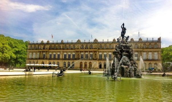 Баварский Версаль: замок Херренкимзее и озеро Кимзее