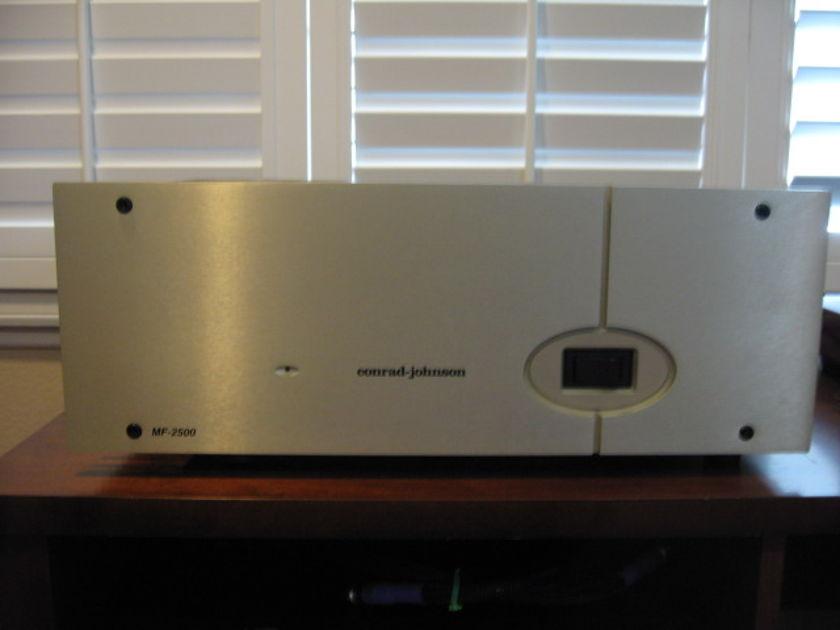 CONRAD JOHNSON SOLID STATE AMP MF2500