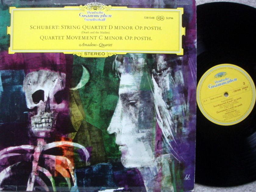 DGG / Schubert String Quartet Death & the Maiden, - AMADEUS QUARTET, MINT!
