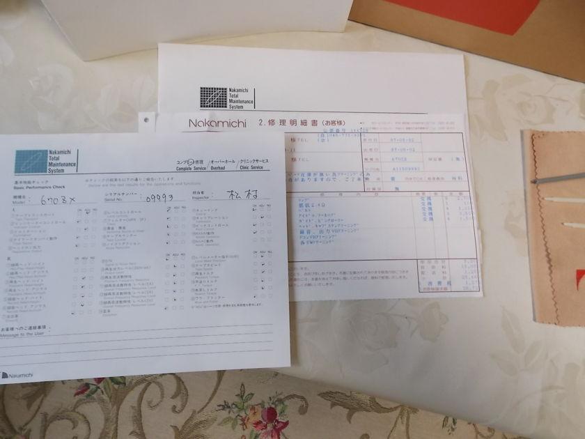 Nakamichi 670ZX Discrete 3-Head Audiophile Cassette Deck: