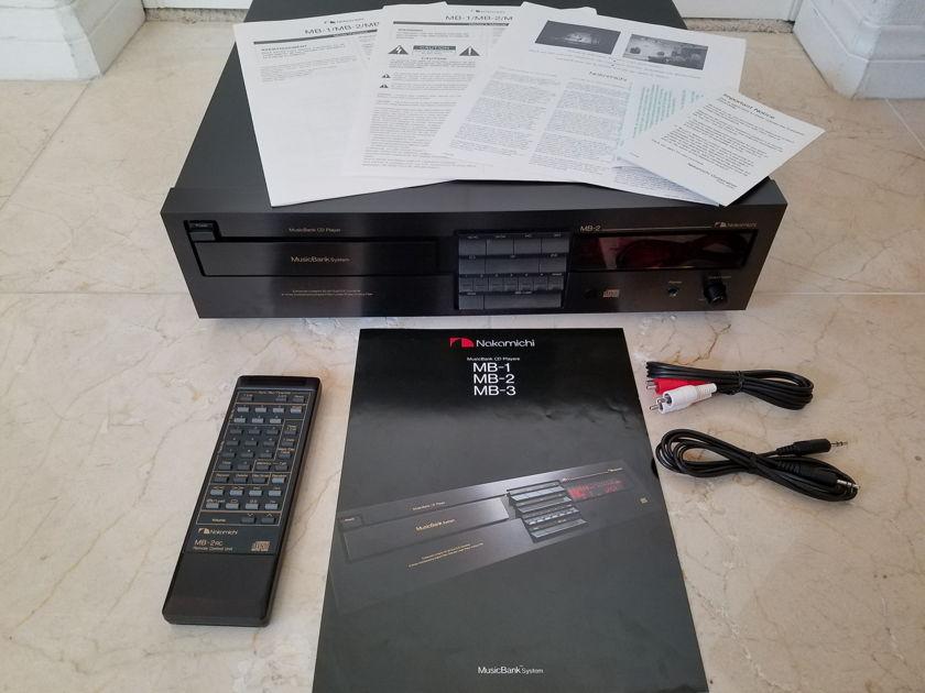 Nakamichi MB-2 Music Bank CD Player