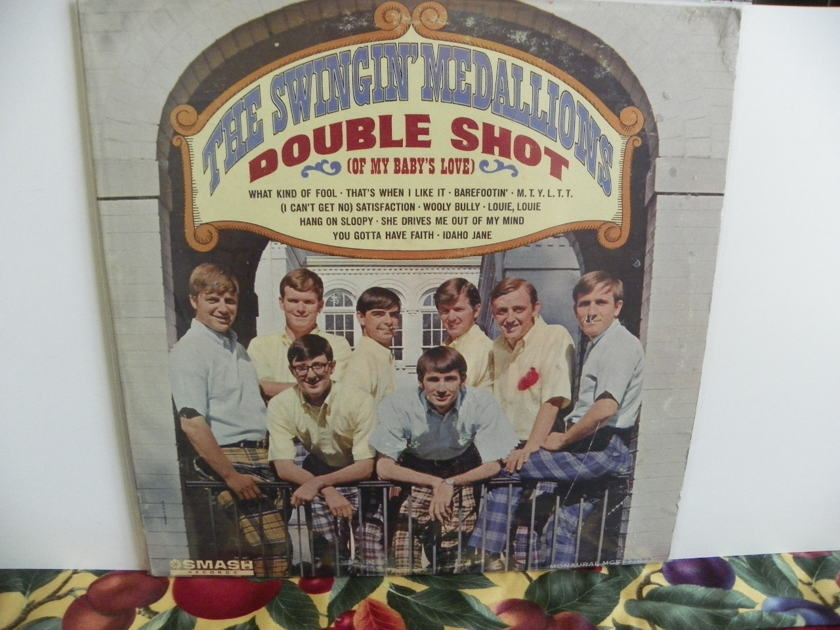THE SWINGIN' MEDALLIONS - DOUBLE SHOT OF MY BABY'S LOVE Rare Mono 1st Edition