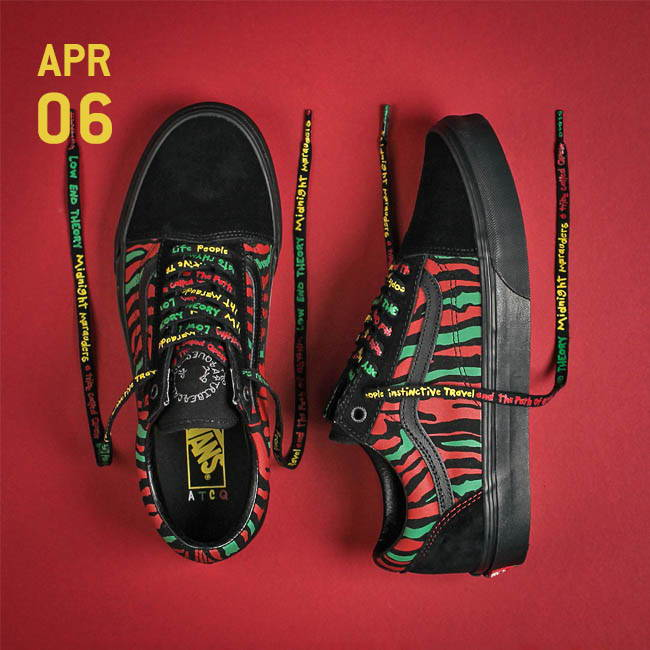 9a5f48ed4a Vans X A Tribe Called Quest Old Skool Shoes – Urban Industry