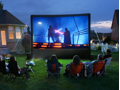 Backyard Movie Night for 20