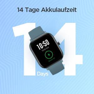 Amazfit GTS - 14 Tage Akkulaufzeit