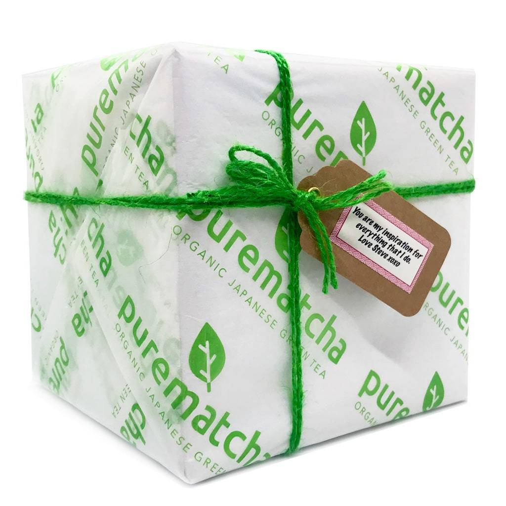 Matcha Gift Set with Free gift wrapping