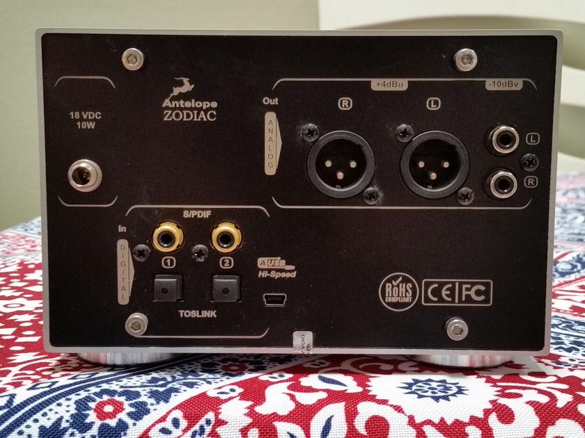 Antelope Audio Zodiac Silver DAC w/Teddy Pardo power supply