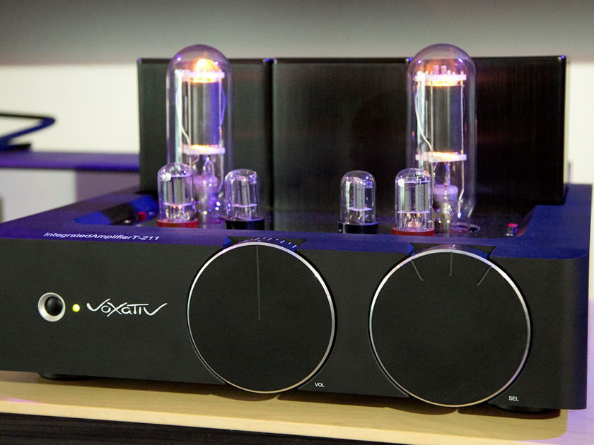 Voxativ T-211 integrated amplifier - NEW - milled out of a 140 lbs. aluminum block