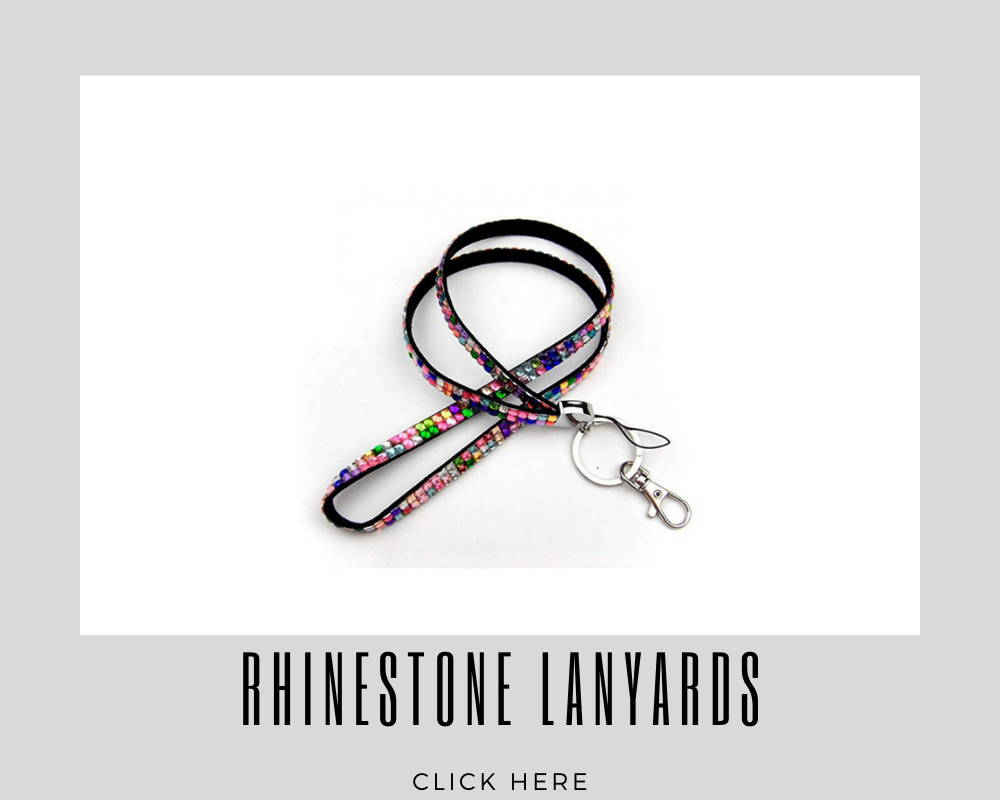 Rhinestone Custom Corporate Lanyards