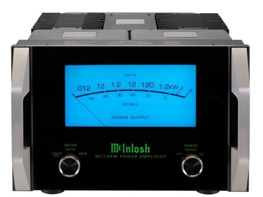 McIntosh MC-1.2kW 1200 Watt Mono Amps