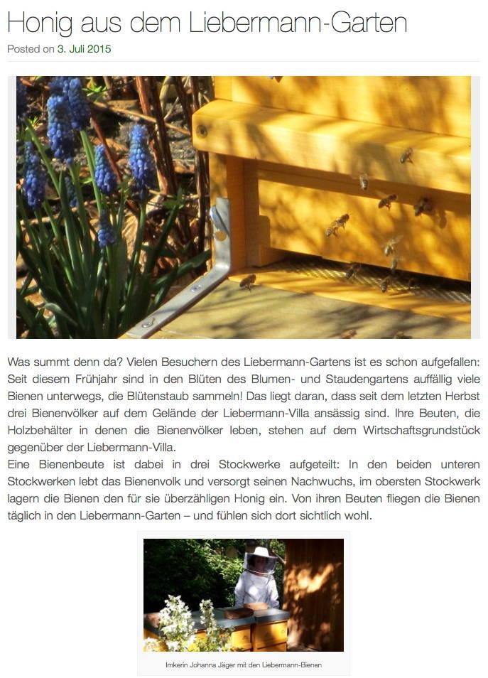 Newsletter des Berliner Golfclub Stolper Heide