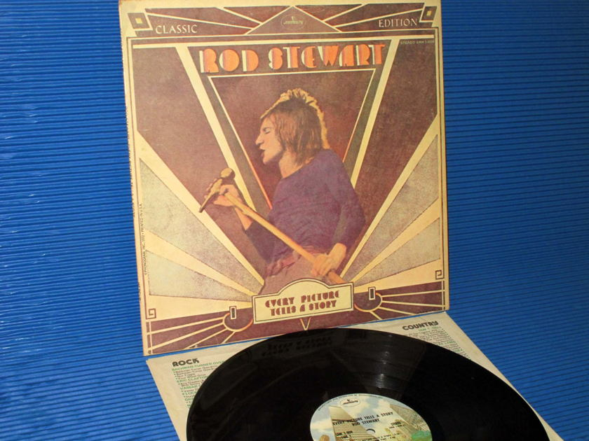 """ROD STEWART -  - """"Every Picture Tells A Story"""" - Mercury 1974"""