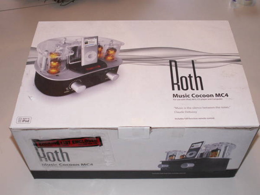 Roth Audio Mc-4 Music cocoon, tubes for your i-pod. ships free!