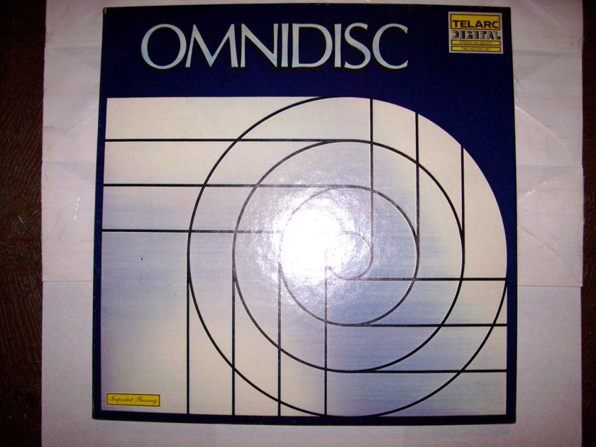 Telarc Omnidisc 2-LP Demo Test Discs For Tone Arm/ Cartridge Set-Up  DG-10073/74 (Near Mint)