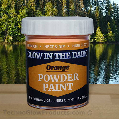 Orange Glow Powder Paint