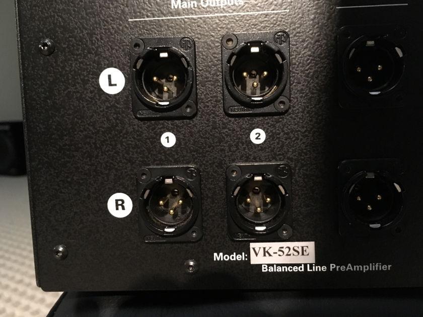 Balanced Audio VK-52 se line preamp