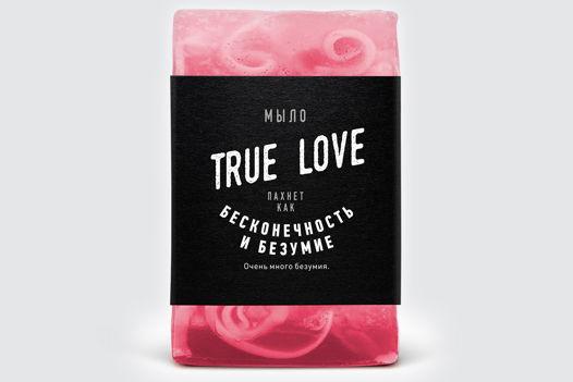 Мыло ручной работы «True Love» парфюмированное. Унисекс