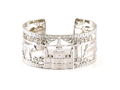 Diamond Nola Collection Cuff Bracelet - Ramsey's Diamond Jewelers