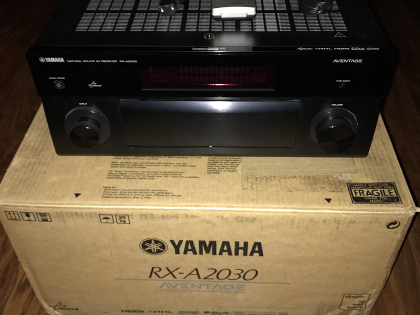 Yamaha RX-A2030 Aventage 9.2 Ch. A/V Receiver