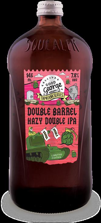 Good George Double Barrel Hazy Double IPA