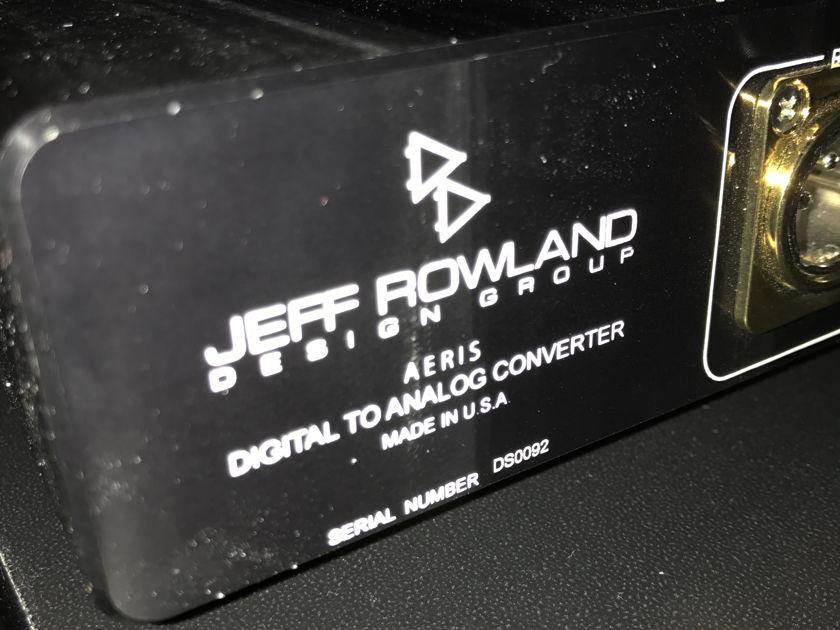 Jeff Rowland Aeris dac complete