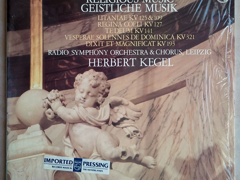 Philips/Mozart - Religious Music / Herbert Kegel, conductor  / 2-LP set / NM