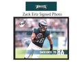 Zach Ertz Signed Photo