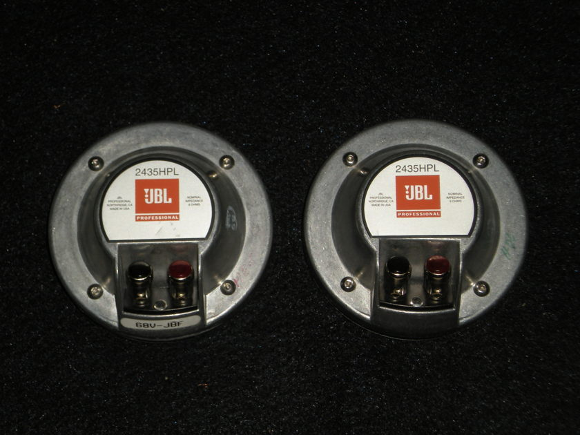 JBL 2435HPL COMPRESSION DRIVER/PAIR
