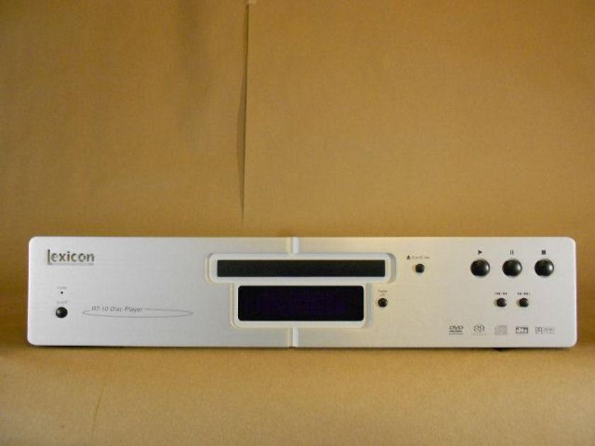 Lexicon RT-10 DVD / CD Player