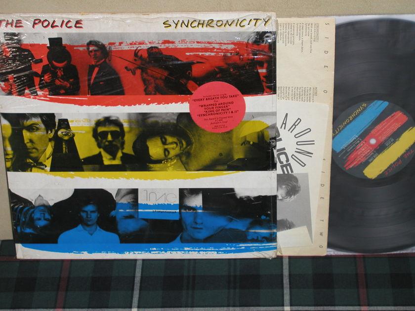 The Police - Synchronicity Quiex/KC-660 1st press w/sticker