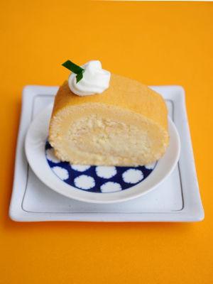 Durian Swiss Roll cake